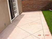 Concrete Patio